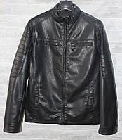 """Куртка мужская демисезонная MAX&HT, кожзам, размеры 46-58 """"JOKER"""" купить недорого от прямого поставщика"""