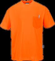 Футболка Day-Vis с короткими рукавами и карманом