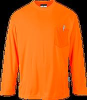 Футболка Day-Vis с длинными рукавами и карманом