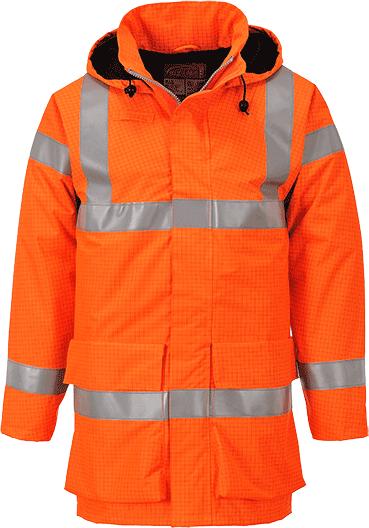 Светоотражающая водонепроницаемая куртка Multi Lite Bizflame S774