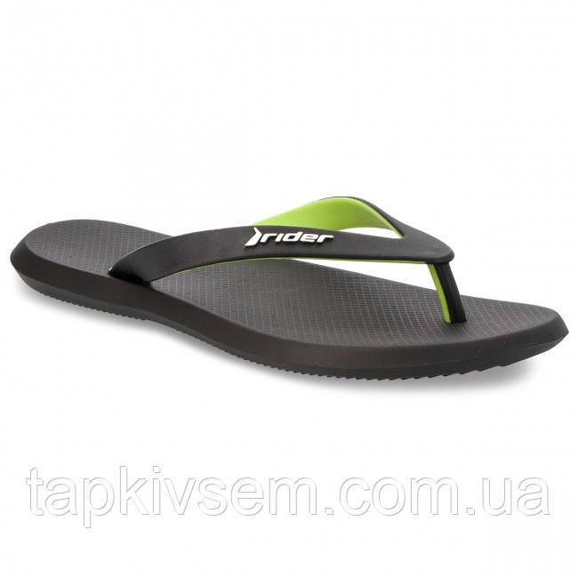 Вьетнамки Rider - R1 Ad 10594 Black/Black/Green