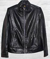 """Куртка чоловіча демісезонна DIKAIQUNHAO, кожзам, р. 46-58 (3 цв) """"JOKER"""" купити недорого від прямого постачальника"""