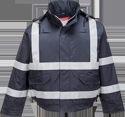 Мультизащитная водонепроницаемая огнестойкая куртка-бомбер Bizflame S783