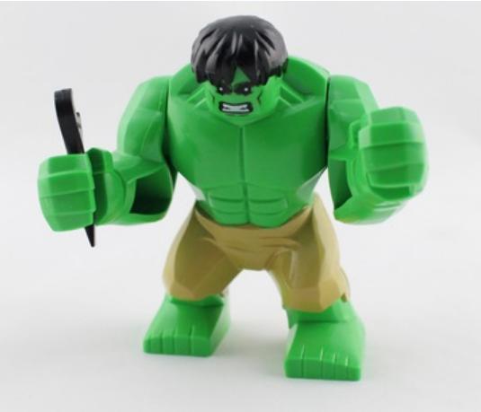 Большие фигурки Халк аналог Лего 7-9 см