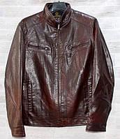 """Куртка чоловіча демісезонна коротка, кожзам, р. 46-58 (3 цв) """"JOKER"""" купити недорого від прямого постачальника"""