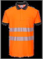 Светоотражающая рубашка поло PW3 S/S T180