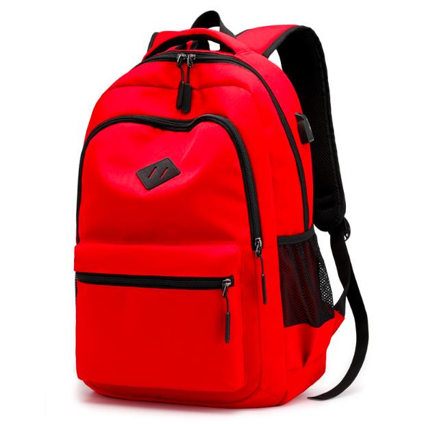 Рюкзак городской Aspen Sport с выходом для гаджетов Красный