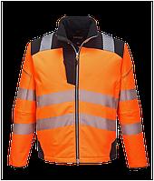 Светоотражащая куртка из софтшелла PW3 T402
