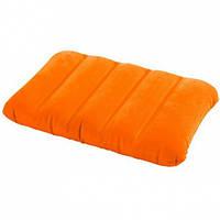Подушка надувная 43х28х9см Intex 68676