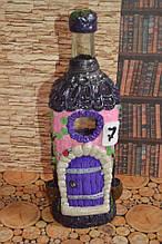 Сувенірна пляшка рожевий будиночок