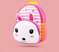 Детский рюкзак Кролик розовый