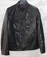 """Куртка чоловіча демісезонна RHENOCEROS кожзам, розміри 48-58 """"JOKER"""" купити недорого від прямого постачальника"""