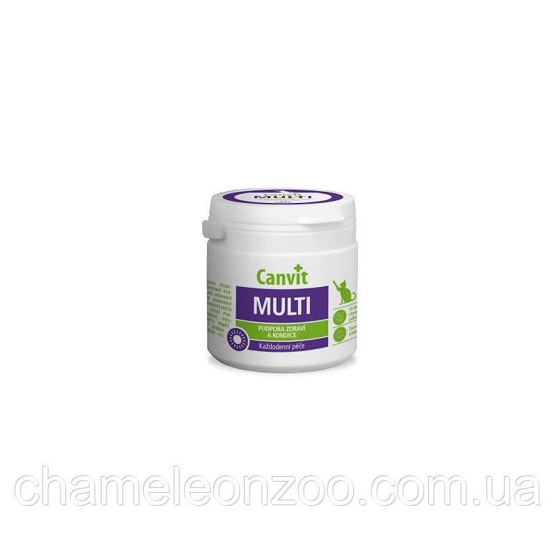 Канвит Мульти Кет 100 г - мультивитаминный комплекс для котов