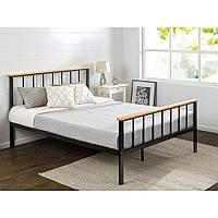 Двуспальная металлическая кровать Ewig