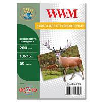 Бумага WWM 10x15 (SG260.F50)