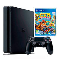 Ігрова приставка Sony PlayStation 4 Slim 1Tb Black + Crash Team Racing Nitro-Fueled (ps4slim41tb+ctrnf)