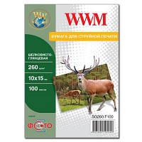 Бумага WWM 10x15 (SG260.F100)