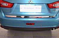 Хром накладка на багажник Митсубиши АSХ 2012-