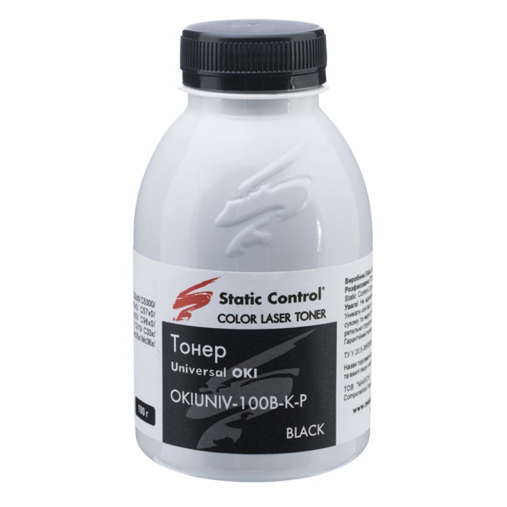 Тонер MAK OKI C710/711 Static Control (OKIUNIV-100B-K-P)