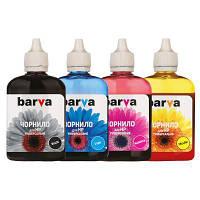 Чернила BARVA HP Universal №2 B/C/M/Y 4х90г (HU2-090-MP)