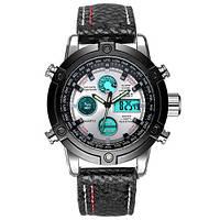 Часы мужские AMST AM3022 оригинал, черный стальной корпус