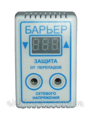 Барьер защита от перепадов 10А розетка (Киев), фото 2
