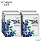 Маска для лица Bioaqua Wonder с экстрактом черники 30 g, фото 2