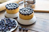 Рецепт: Идеальное песочное тесто для тарталеток и тартов