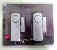 Магнітна бездротова сигналізація  - ревун проти взлому 90 дБ (для двері, вікна)