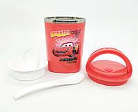 Термос детский для пищевых продуктов 350 Тачки Маквин
