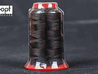 Нитка швейная TYTAN (Турция) № 40, для машинки Версаль (270DTEX X3), цв. коричневый (881), 500 м