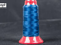 Нитка швейная TYTAN (Турция) № 40, для машинки Версаль (270DTEX X3), цв. синий (620), 500 м