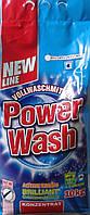 Универсальный стиральный порошок Power Wash 10 кг, 105 стирок
