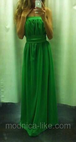 Потрясающее платье (шифон)