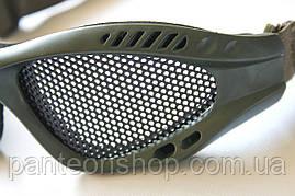 Окуляри-сітка олива, фото 3