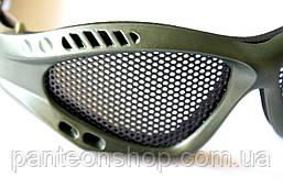 Окуляри-сітка олива, фото 2