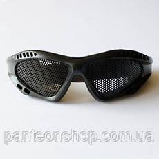 Окуляри-сітка чорні, фото 3