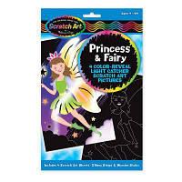 Набор для творчества Melissa&Doug Набор царапок Принцессы и феи (MD5899)