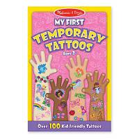 Набор для творчества Melissa&Doug Мои первые временные татуировки, 100 шт., розовые (MD2946)