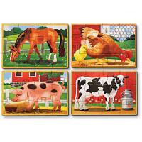 Пазл Melissa&Doug Животные на ферме (MD13793)