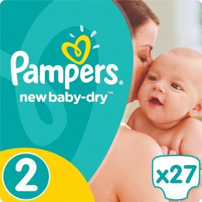 Подгузник Pampers New Baby-Dry Mini (3-6 кг), 27шт (4015400537397)