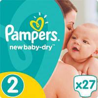Подгузник Pampers New Baby-Dry Mini (3-6 кг), 27шт (4015400537397), фото 1