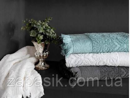 Полотенце Для Сауны Махровое С Бахромой Размер 70 х 140 см