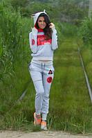 Женский спортивный костюм с ушками