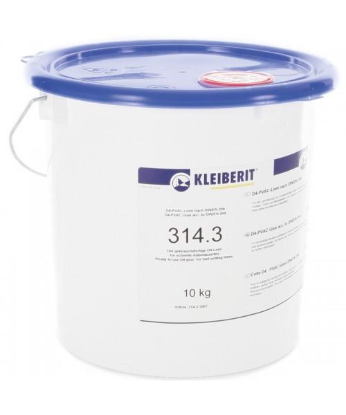 Клей ПВА Kleiberit 314.3 D4 3кг (однокомпонентный)