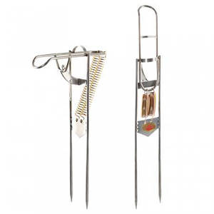 Подсекатель для удочки нержавейка 55 см (Самоподсекатель автомат)