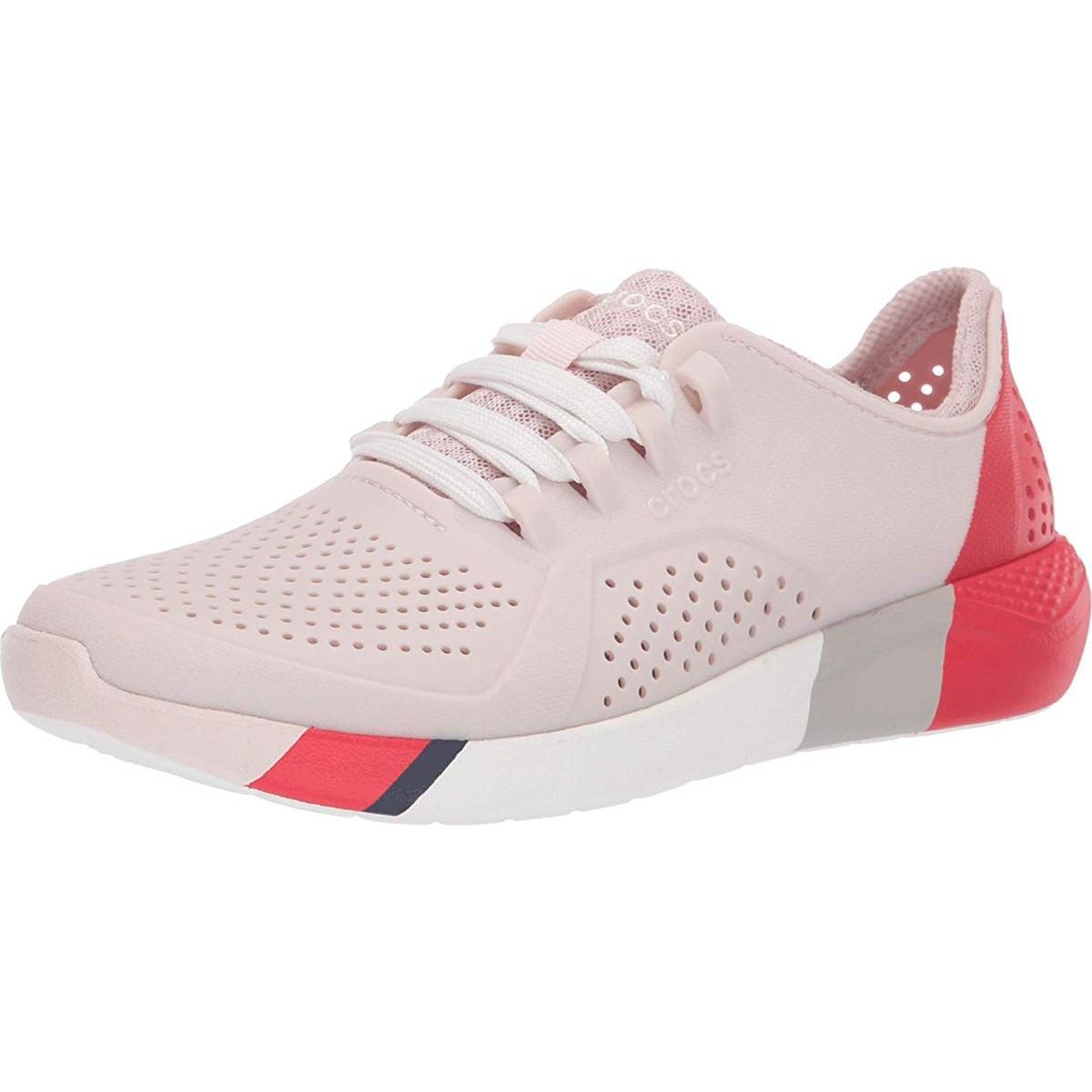 Кроссовки Crocs LiteRide Color Block Pacer Pink - Оригинал, фото 1
