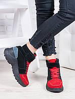 Ботинки замшевые Balenc!!aga 6841-28, фото 1