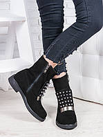 Ботинки замшевые Олимпия 6845-28, фото 1