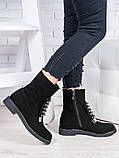 Ботинки замшевые Олимпия 6845-28, фото 2